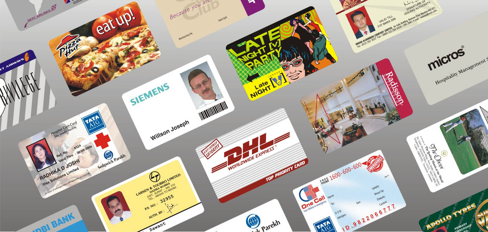 Plastic Cards Manufacturer India